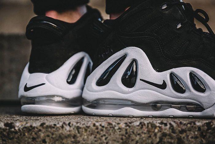 Nike Air Uptempo 97 Black White 1