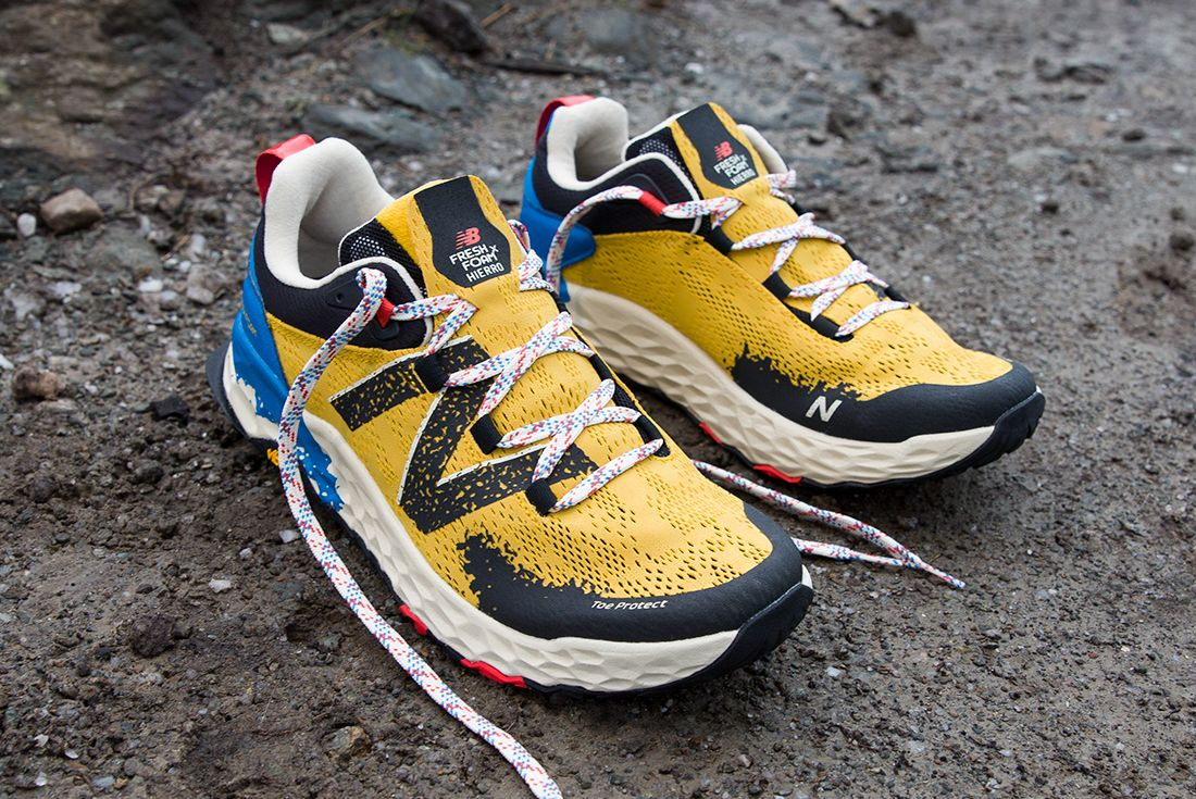 New Balance Hierro V5 Yellow Black