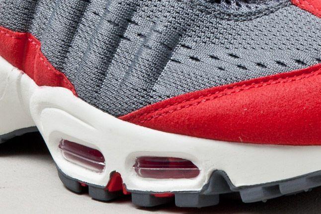 Wmns Nike Air Max 95 Wyn Tokyo Red Grey Det 1