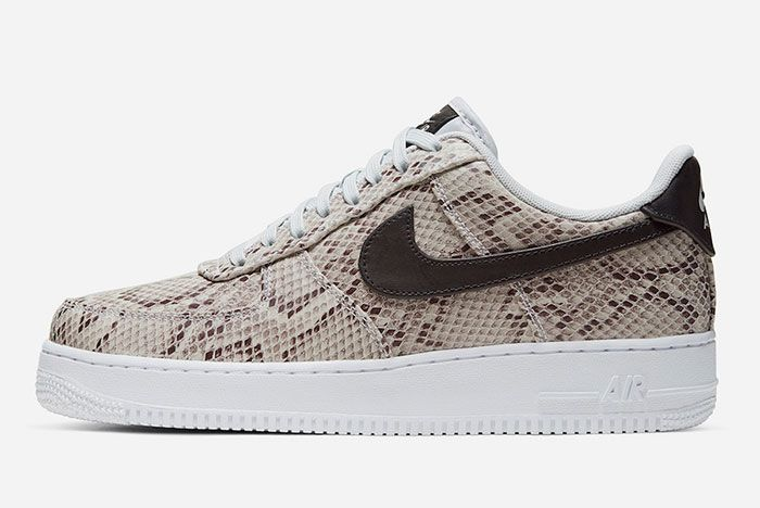 Nike Air Force 1 Low Snakeskin Lateral