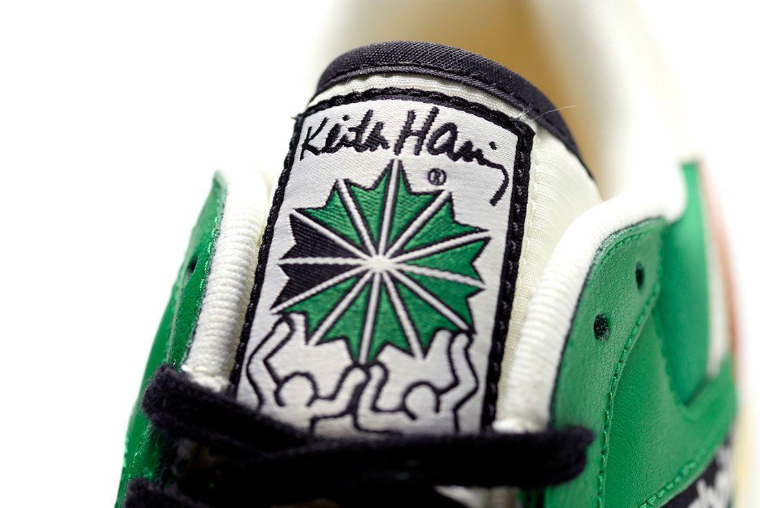 Keith Haring x Reebok GL 6000