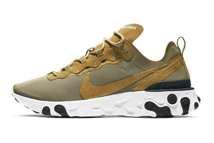 Nike Element React 55 Olive