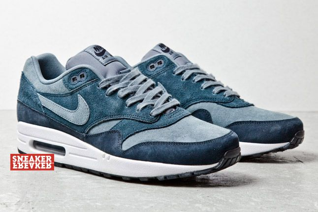 Nike Air Max 1 Suede Blu 2 1
