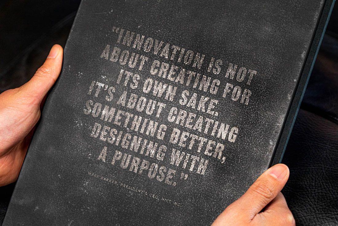 Sneaker Freaker Nike Genealogy Of Innovation Back Cover