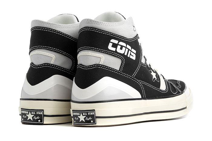 Converse Chuck 70 E260 Hi Black 166462C 001 Release Date Heel