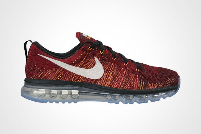 Nike Flyknit Max Black Team Red Citrus Ember Glow Thumb