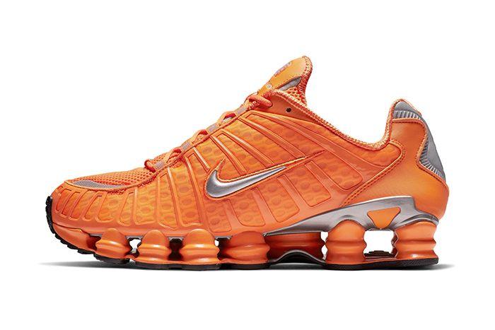 Nike Shox Tl Orange Release Date Side Profile