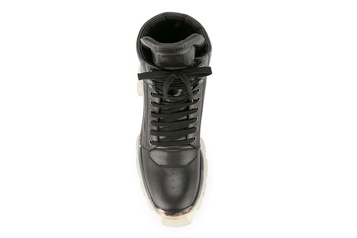 Rick Owens Tractor Dunk Boots Black White Release 1 Sneaker Freaker 4
