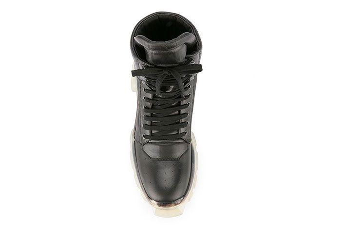 Rick Owens Tractor Dunk Boots Black White Release 1 Sneaker Freaker 4
