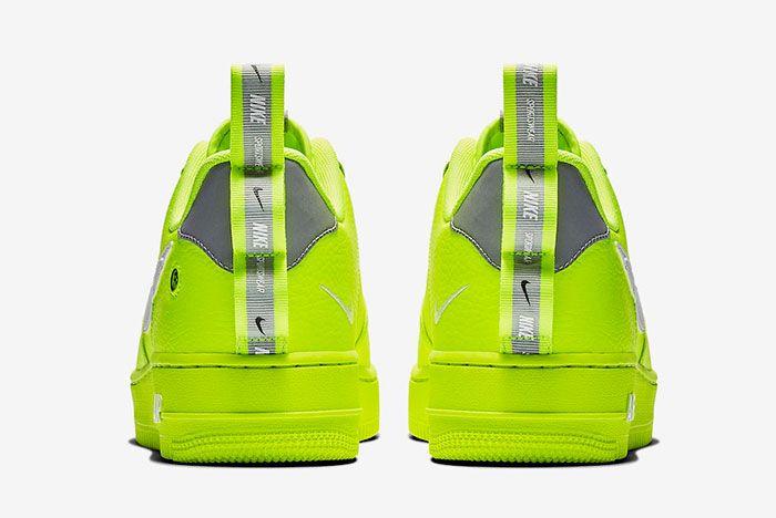 Nike Air Force 1 Utility Volt Aj7747 700 Release Date 5 Sneaker Freaker