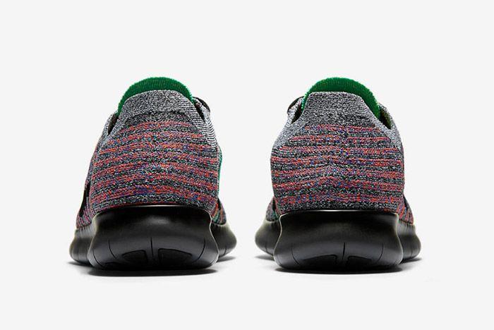Nike Free Rn Flyknit Grey Multi 3