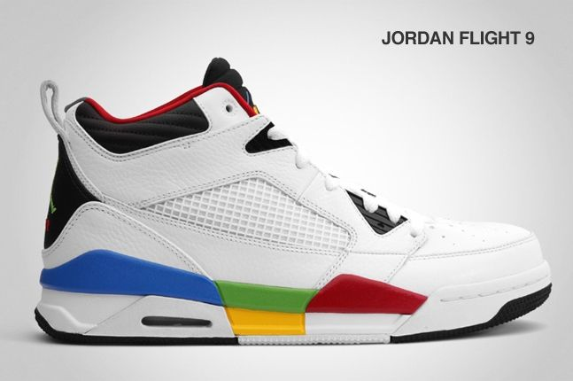 Jordan Flight 9 Olympic 2