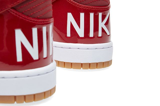 Nike Dunk Lux Gym Red 6