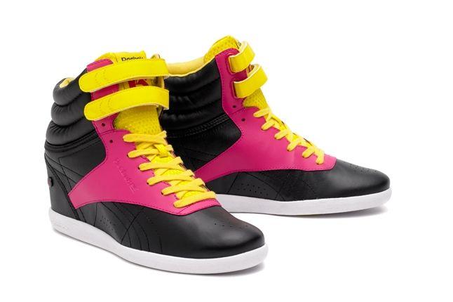 Reebok Alicia Keys Freestyle Hi Pink Black Hero 1