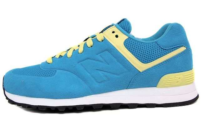 New Balance 574 Blue Yellow 02 1