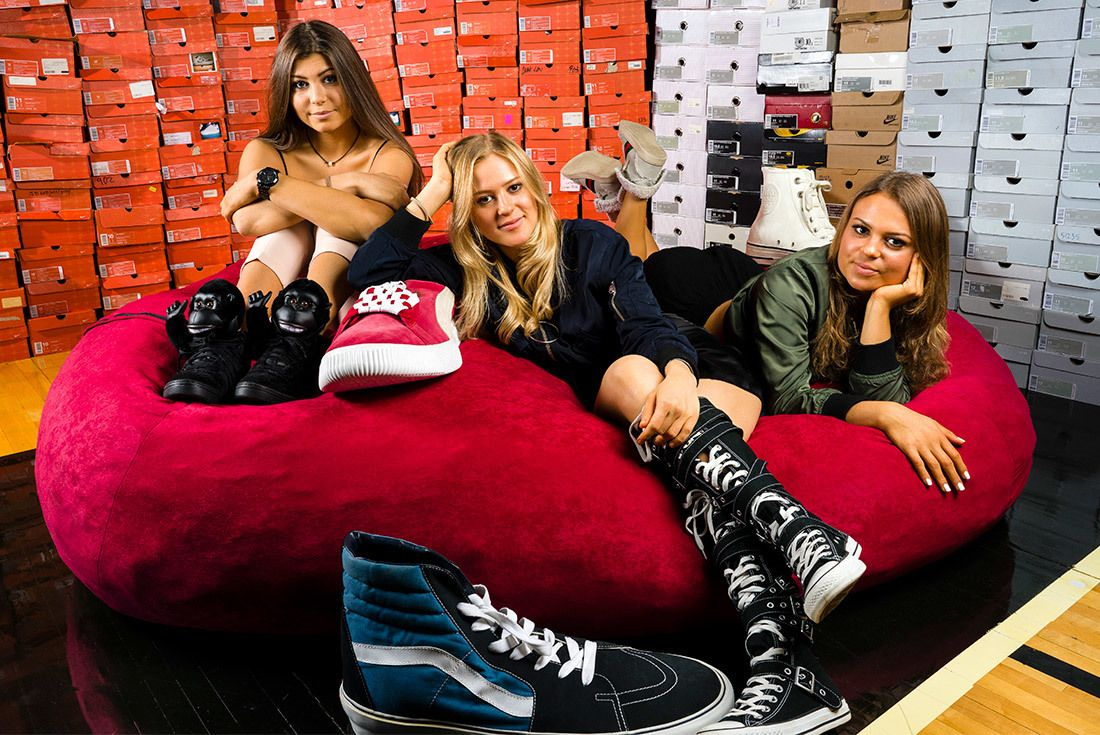 The Chicks With Kicks Sneaker Freaker Interview 1
