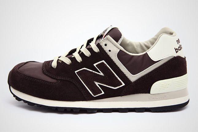 New Balance Ml574 Dk Brown Beige 01 1