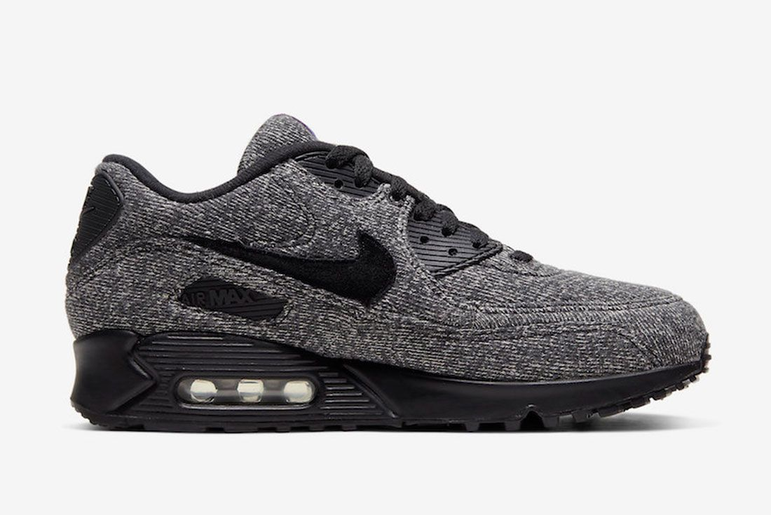 Loopwheeler Nike Air Max 90 Cq7854 001 Release Date 2Official
