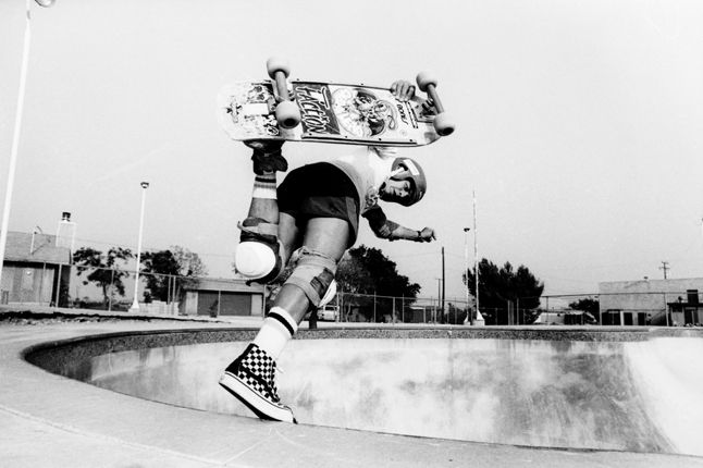 Steve Caballero In The Bowl 1