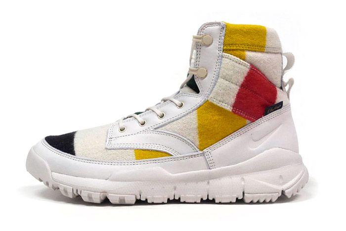 Pendleton Nike Sfb Leather 6 White 5