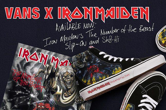 Vans Iron Maiden Notb 1 1