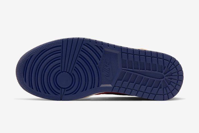 Air Jordan 1 Turf Orange Outsole