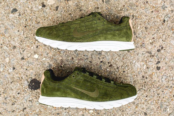 Nike Mayfly Leather Prm Legion Green 2