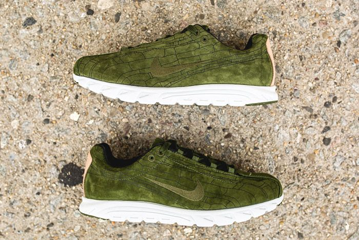 Nike Mayfly Leather Prm Legion Green 2