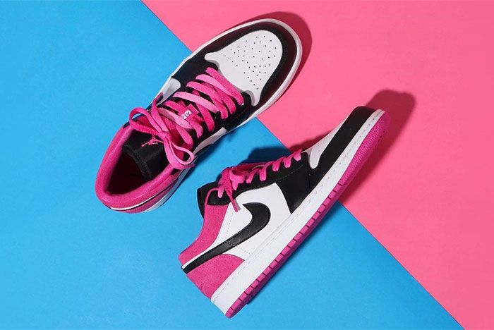 Air Jordan 1 Low Active Fuchsia Top