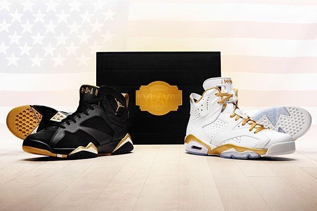 Air Jordan Golden Moments Pack 6 1