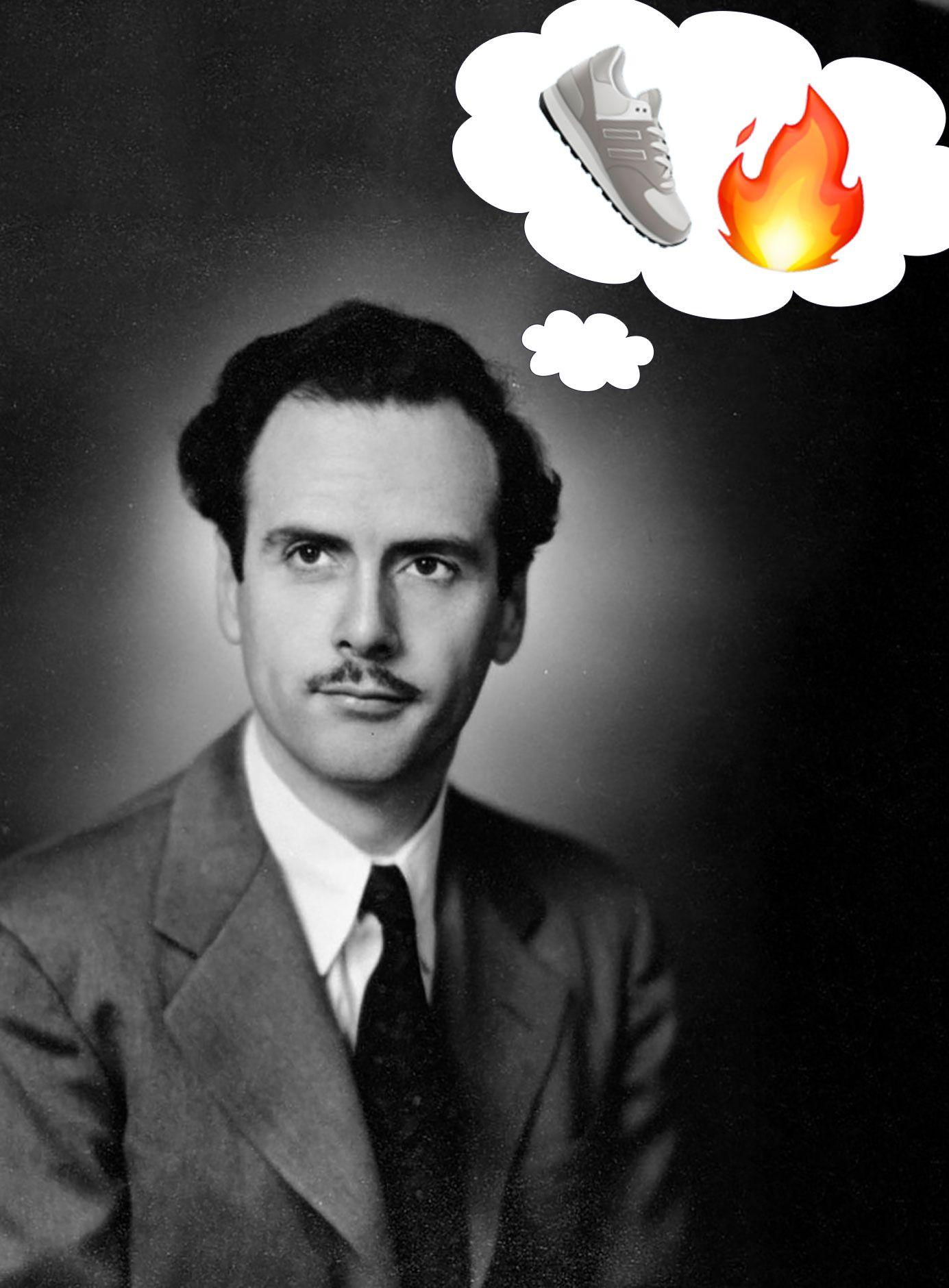 Marshall McLuhan Sneaker Emoji