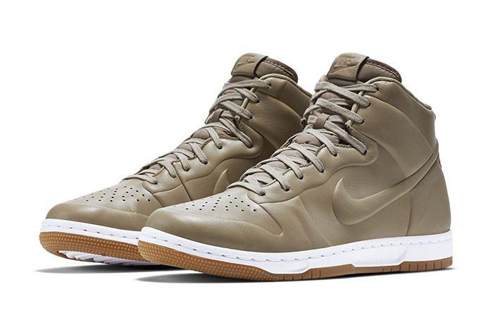 Nike Dunk High Crft Khaki 1