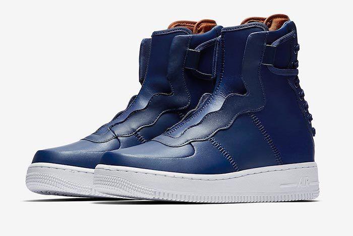 Nike Af1 Rebel Blue Volt 3