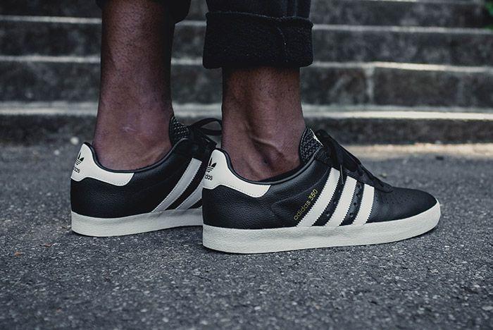 Adidas 350 Core Black 4
