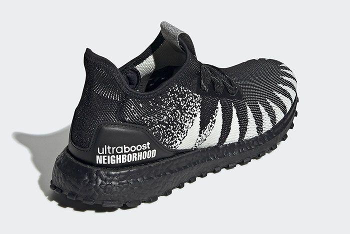 Adidas Neighborhood Ultra Boost 19 Fu7313 Rear Angle