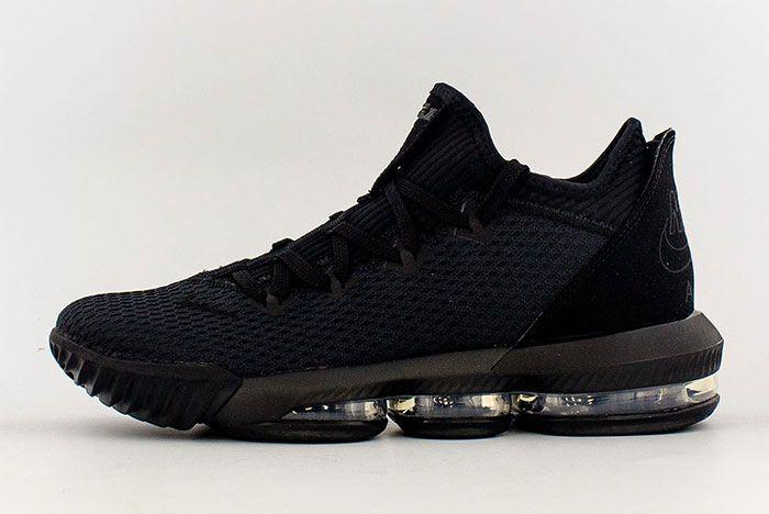 Nike Lebron 16 Low Black Left