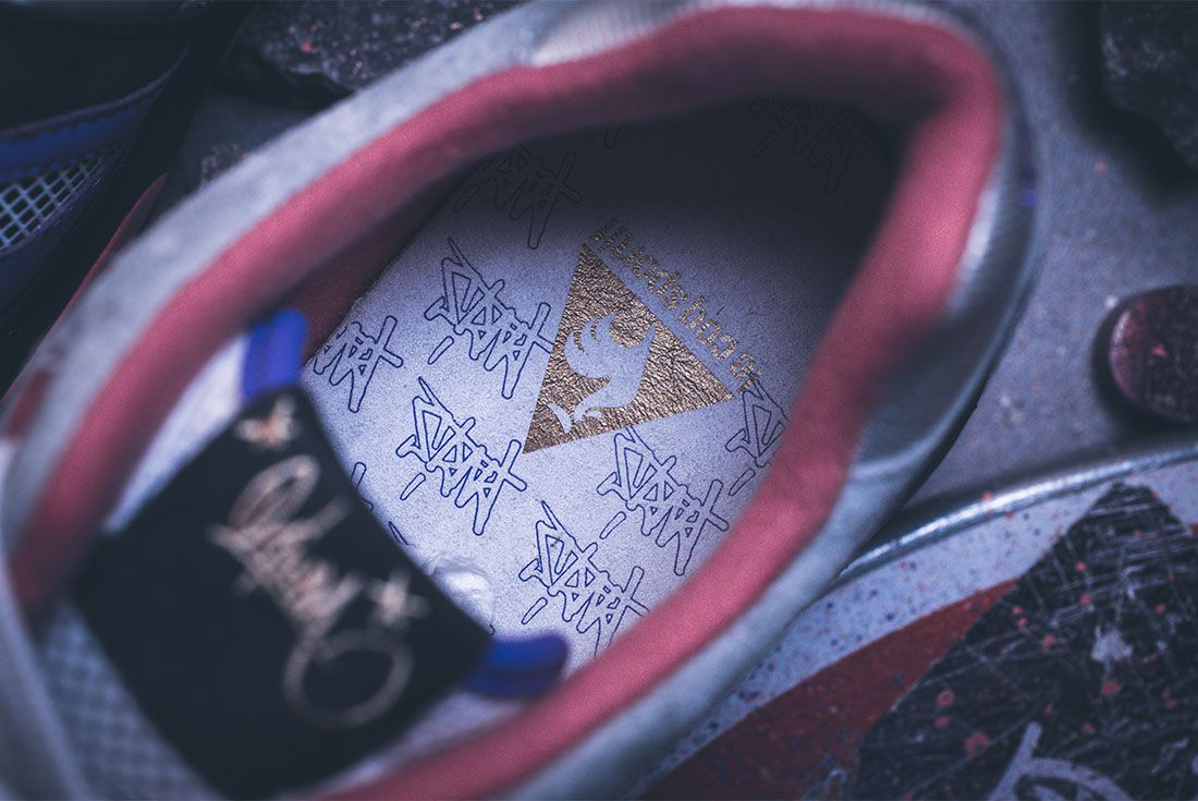 Le Coq Sportif X Opium Lcs R1000 Up Close Insole