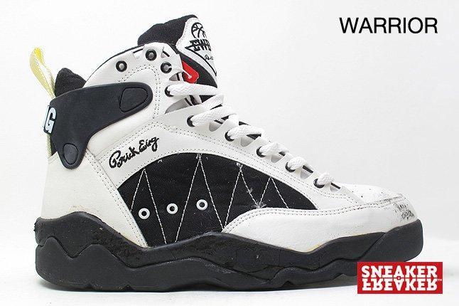Ewing Sneakers Warrior White Black 1