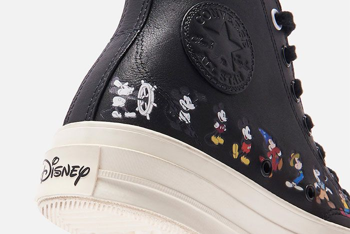 Kith Disney Converse Chuck 70 Mickey Mouse Release Date 13Black Hero Shot