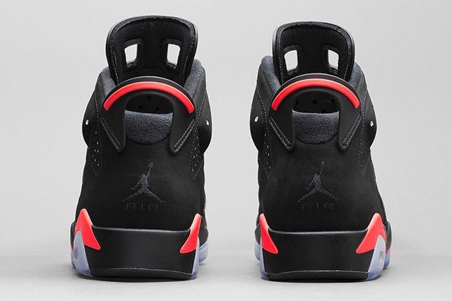 Air Jordan 6 Black Infrared Official Images 4