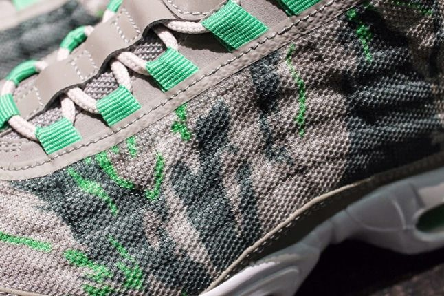 Nike Am95 Prm Tape Green Camo Midfoot Detail 1