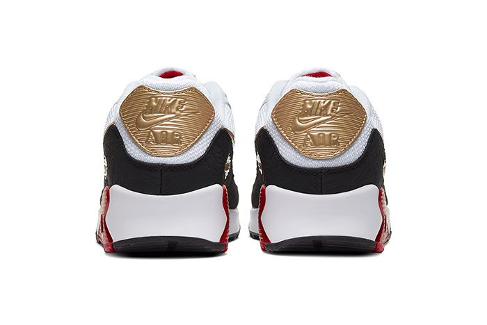 Nike Air Max 90 Chinese New Year Heel
