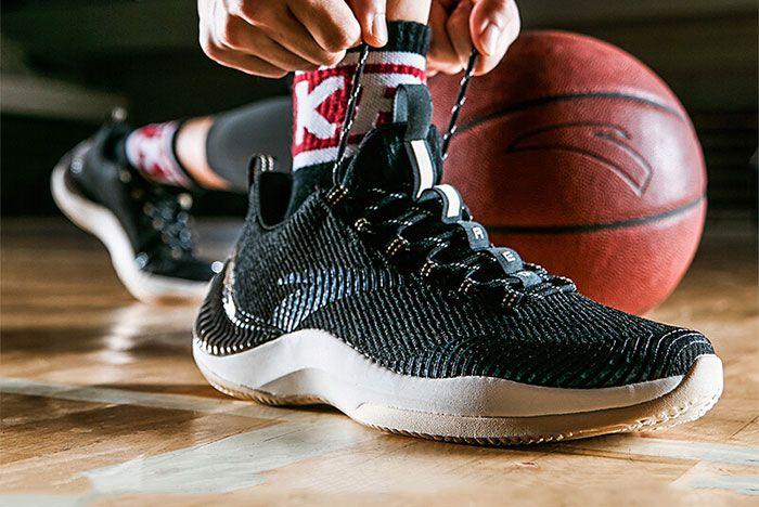 Anta Basketball Sneaker On Court