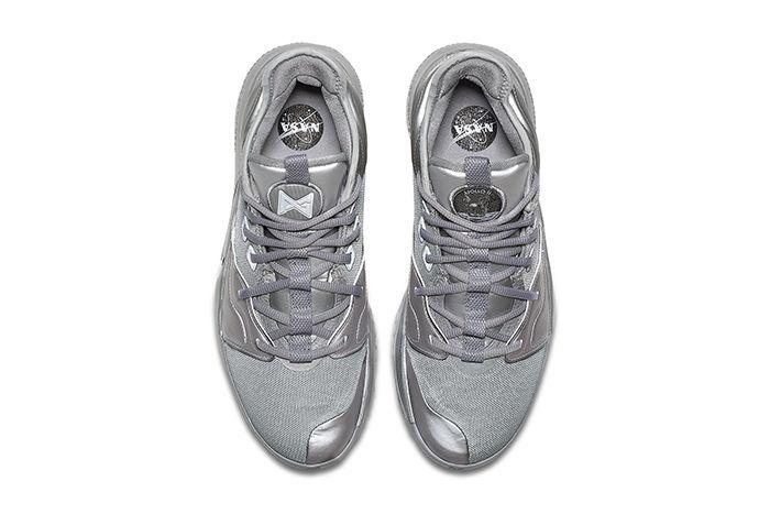 Nike Pg 3 Nasa Reflective Silver Ci2667 001 Top Down