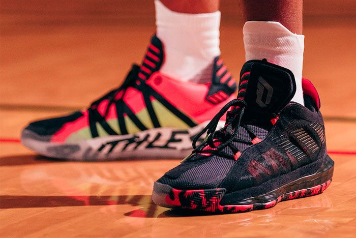 Adidas Dame 6 Ruthless On Foot Toe
