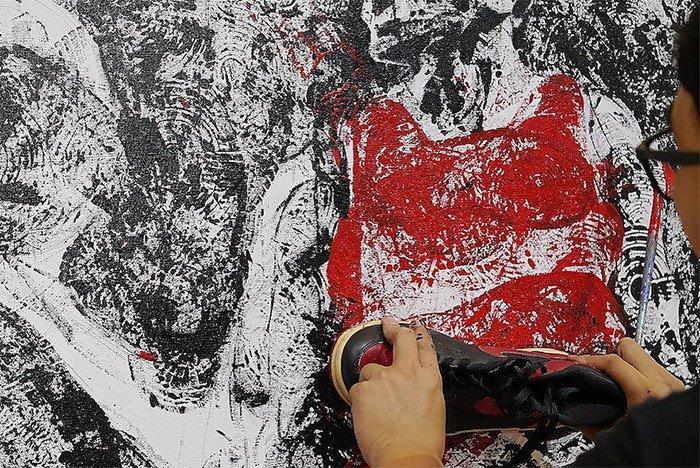 Air Jordan 1 Shoe Painting 2