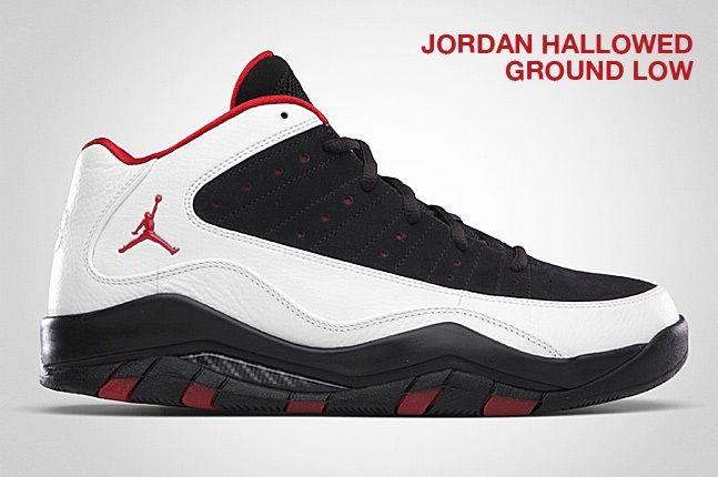 Jordan Hallowed Ground Low White 1