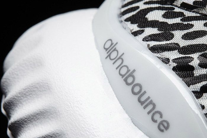 Adidas Alphabounce Core Black Metallic Small 4
