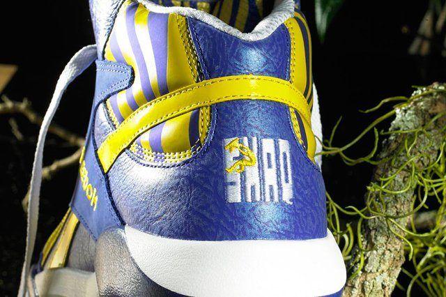 Reebok Classic Shaq Attaq Lakers