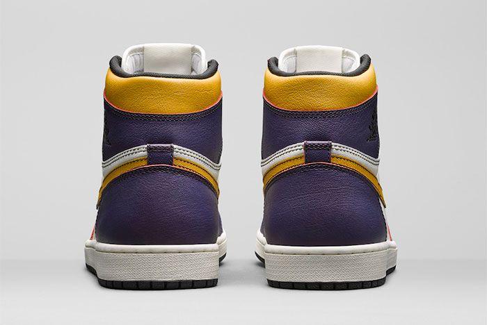 Nike Sb Air Jordan 1 Court Purple Heel
